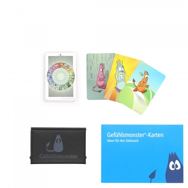 Gefühlsmonster-Karten Mini
