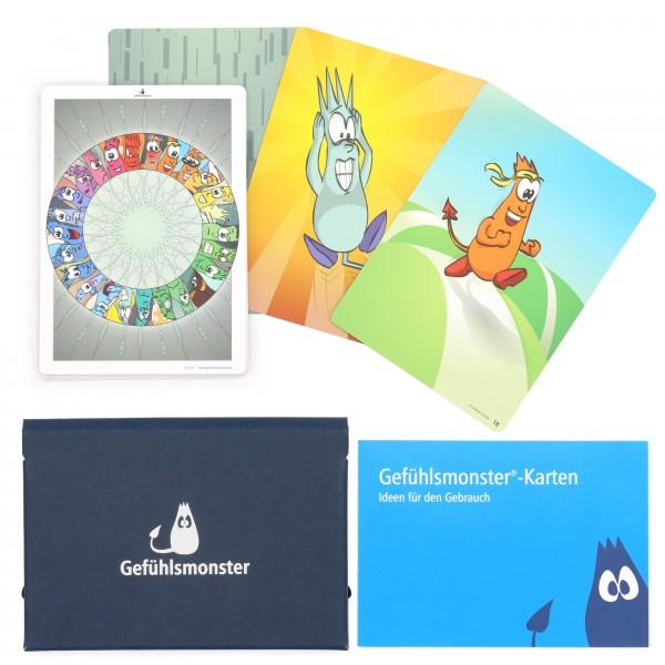 Gefühlsmonster-Karten Mittel (DIN A6)