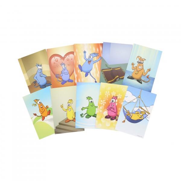 Gute-Wünsche-Karten Set (10 St.)