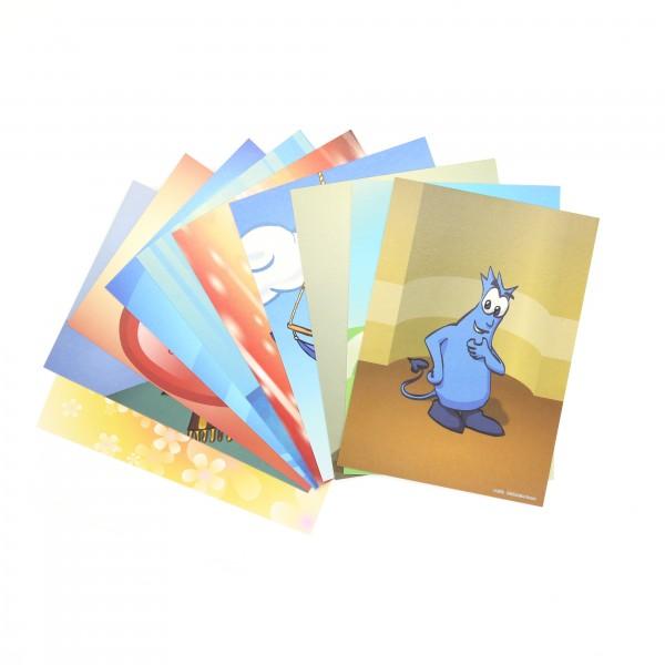 Gefühlsmonster Postkarten Set (10 St.)
